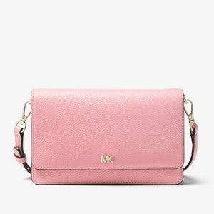 Michael Kors Pebbled Leather Crossbody Bag